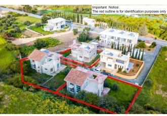 3 ημιτελής κατοικίες - Γερμασόγεια